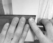 2.裏面の研ぎ方