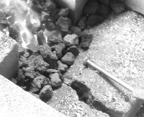 五寸釘によるペーパーナイフの作り方の作り方①