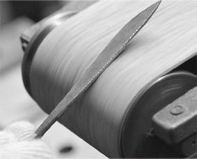 五寸釘によるペーパーナイフの作り方の作り方②