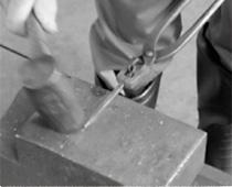 階打釘の作り方⑤