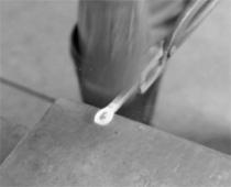 階打釘の作り方②